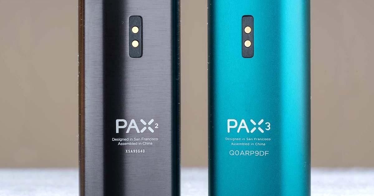 Vaporizéry PAX 2 a PAX 3 - detail